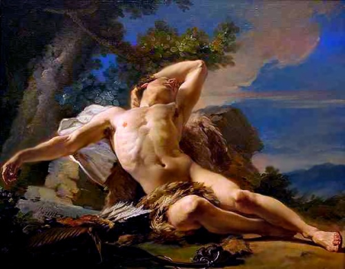 Painting of Endymion Sleeping